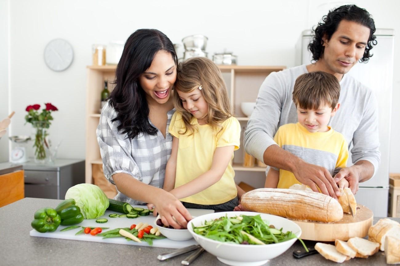 La alimentación en la familia es de gran importancia